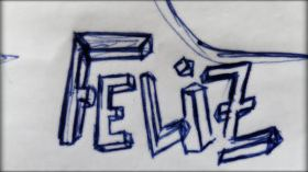 Feliz-sketch